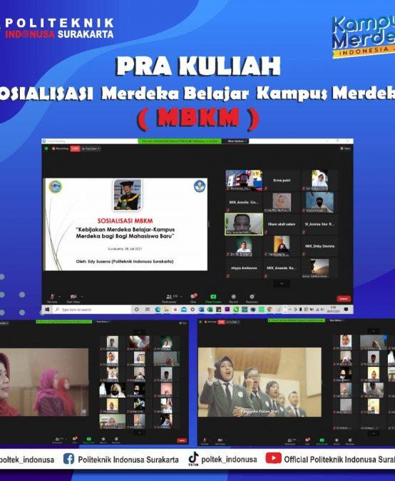 Socialization of Merdeka Belajar Kampus Merdeka (MBKM)